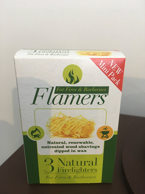 Flamers Natural Firelighters (3 Pack)