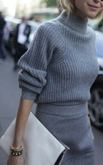 Eliane Porchet grey jumper
