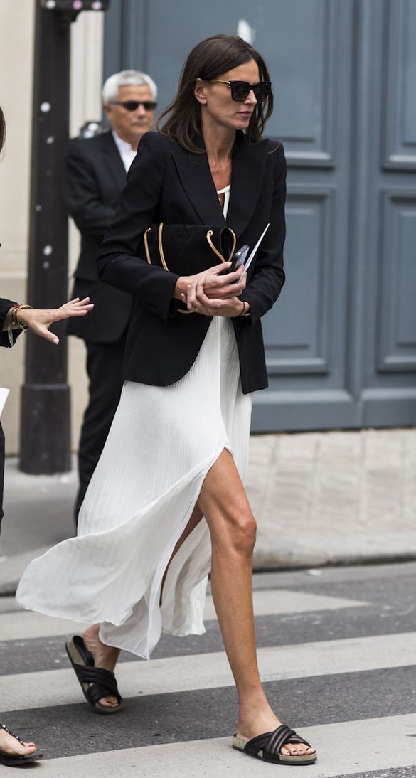 Long Dress and sophisticated chic!