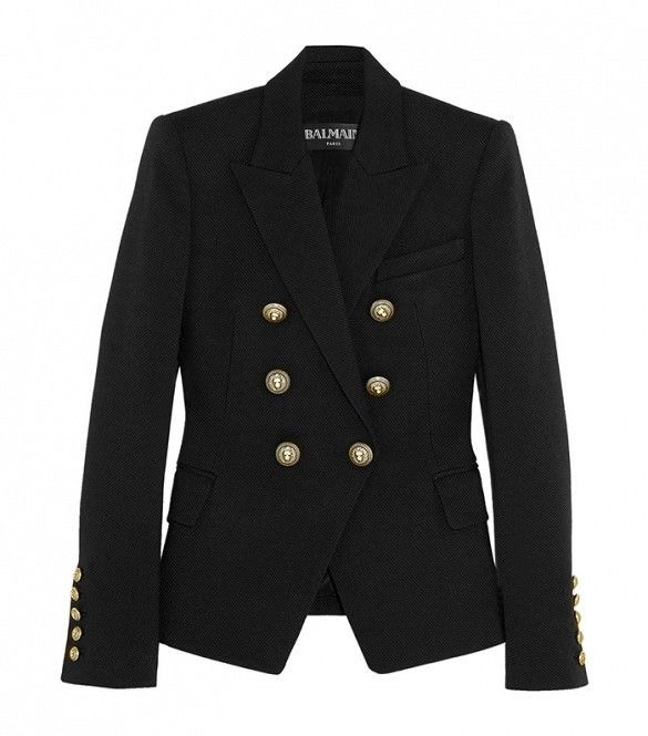 Eliane Porchet - the perfect balmain blazer