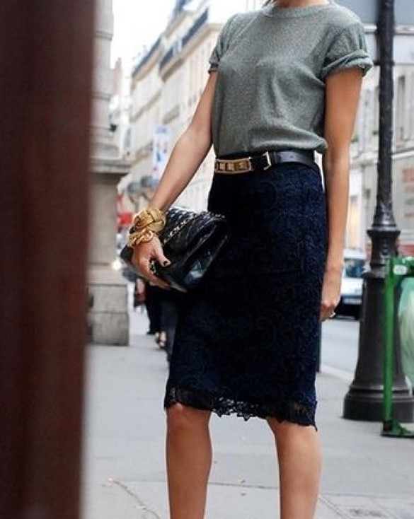 Skirts! combine it cool.