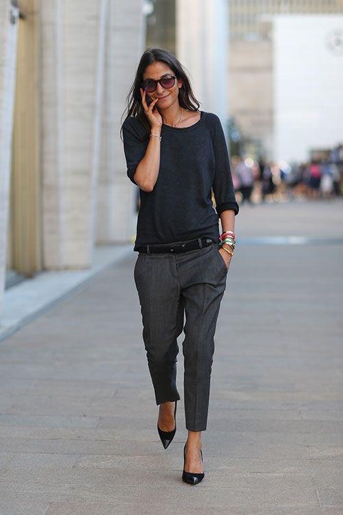 Eliane Porchet - love this simple minimalistic grey look!