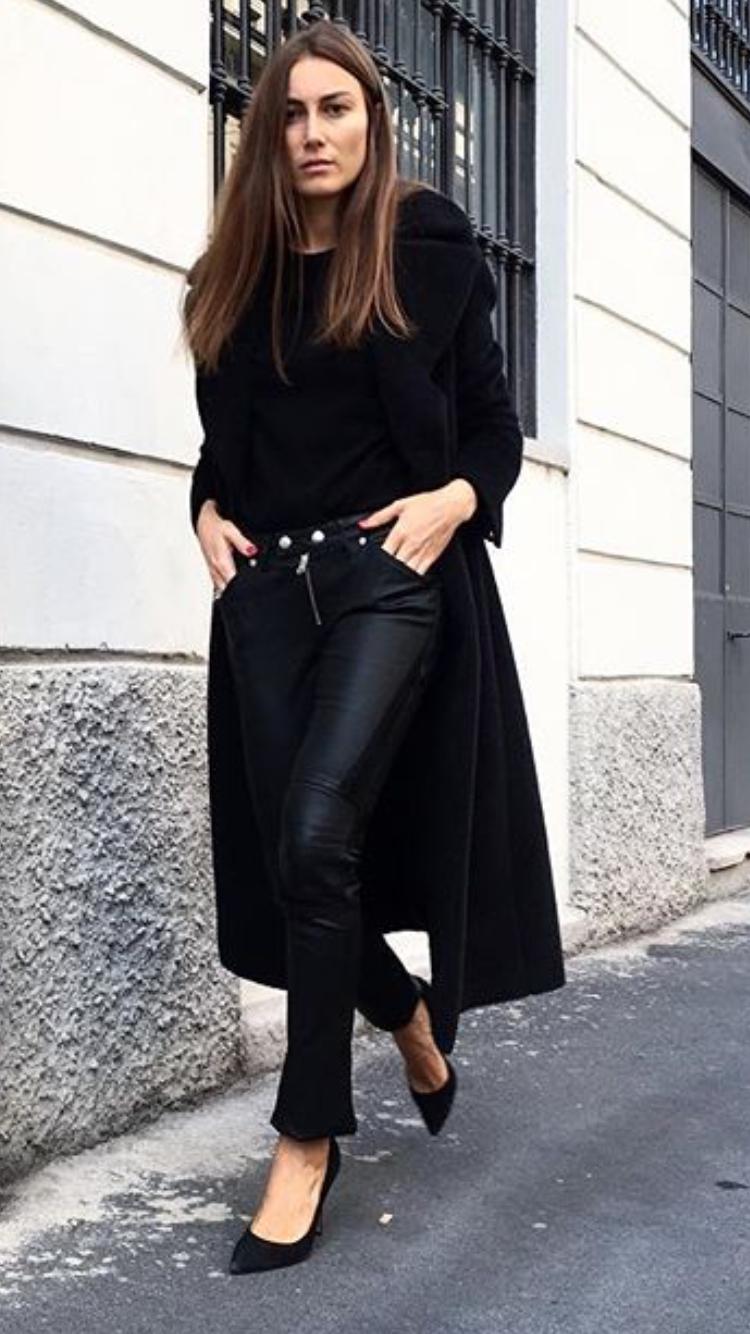 GiorgiaTordini in black