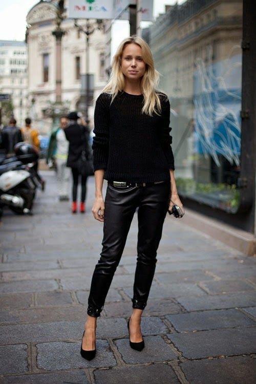 Eliane Porchet Elin Kling - Leather Pants
