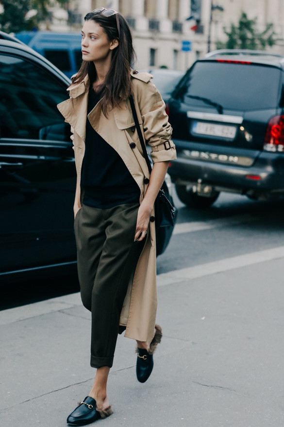 Cool style with Gucci loafers!