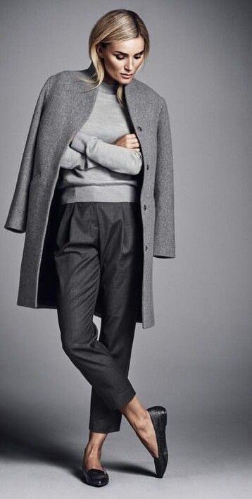 Grey business look!