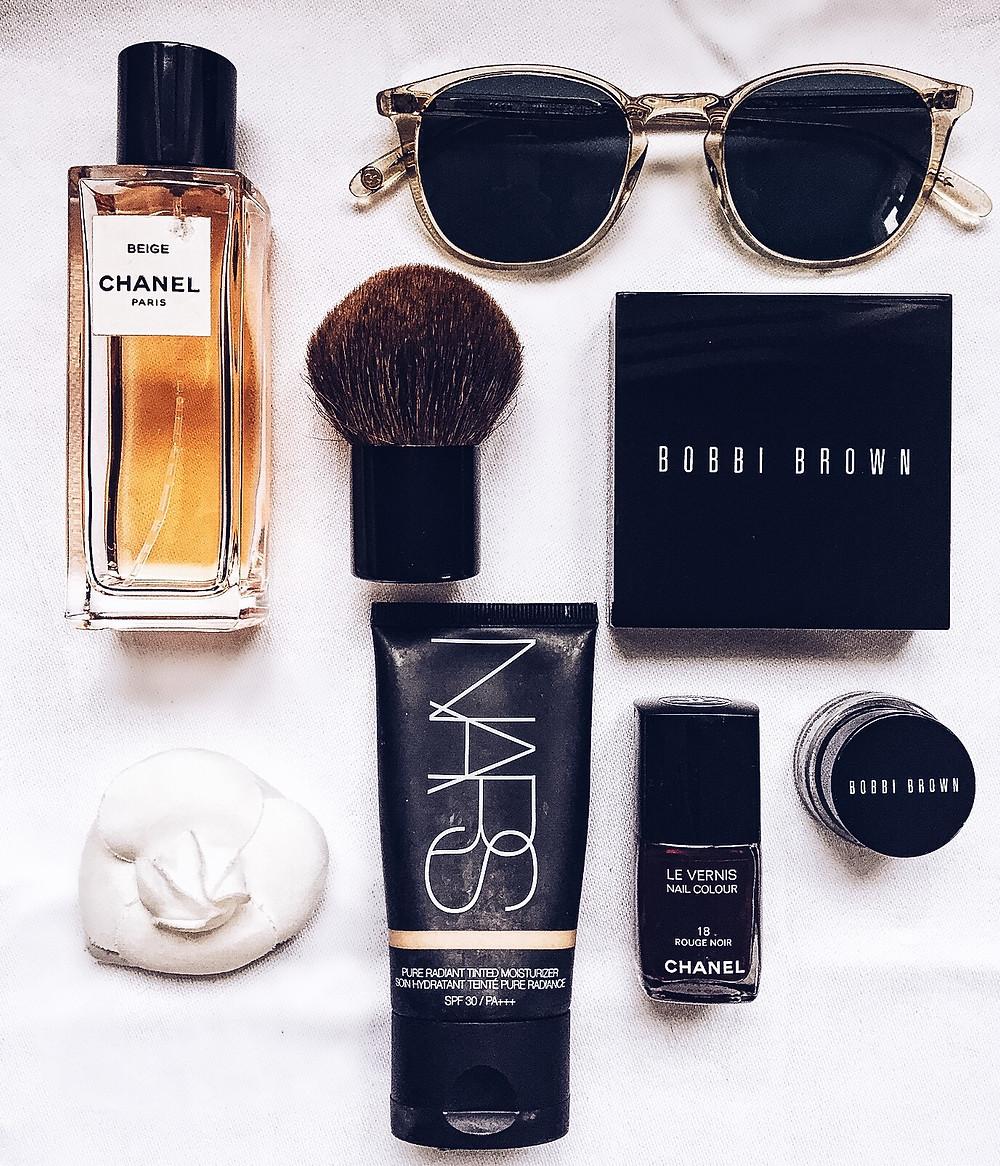 Eliane Porchet's personal items
