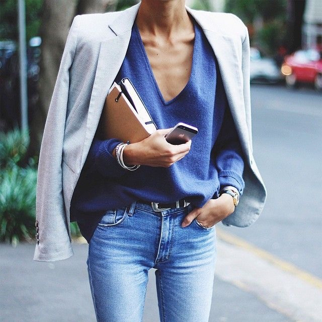 Eliane Porchet - Business in Jeans