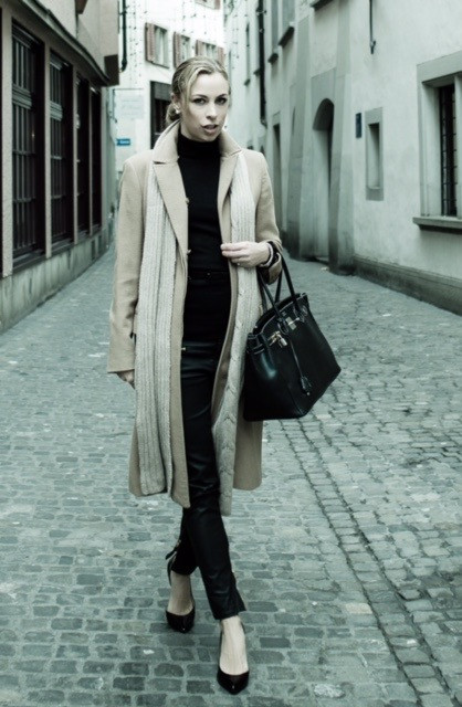 Eliane Porchet - this is me in a typical business winter look