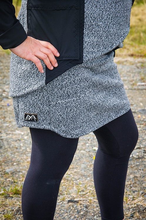 Wool Technical Skirt