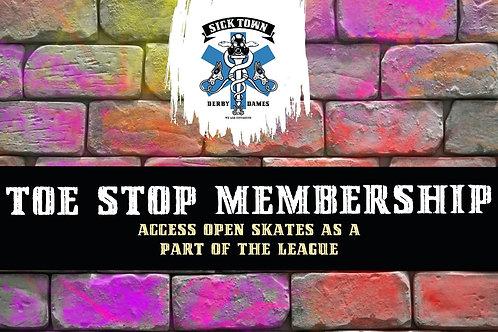 Toe Stop Membership