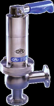 DPL Hygienic Pressure Relief Valves. Bioflo.ie