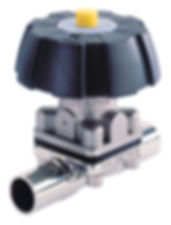 Burkrt Manual Diaphragm, HygienicValves , Bioflo.ie