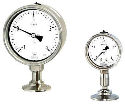bioflo.ie, Hygienic Pressure Gauge with Diaphragm Seal