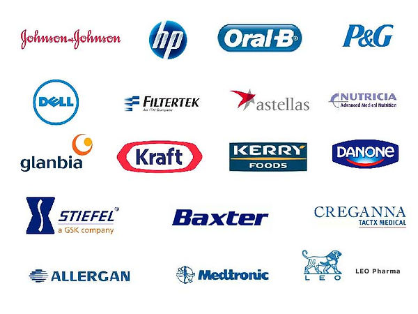 Bioflo.ie   Typical Clients Included...