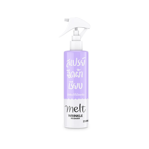 [รอเปิดตัวสินค้า] สเปรย์ฉีดผ้าเรียบ+ฉีดผ้าหอม #melt กลิ่น ไวโอเลต ขนาด 250 ml
