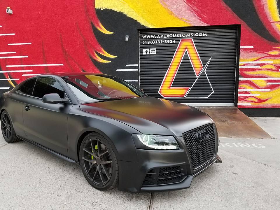2011 Audi S5 LED Lighting Vinyl Wrap