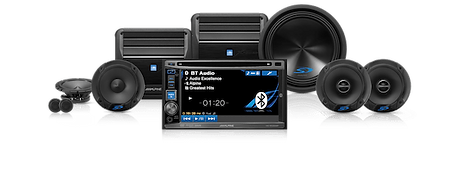 Alpine Car Audio Speakers Amplifiers Subwoofers