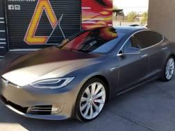 Tesla Vehicle Wrap