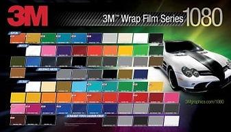 3M 1080 Series Vinyl Vehicle Wrap