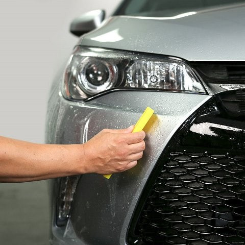 Applying Clear Bra Paint Protection Film
