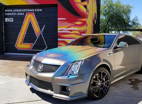 A Cadillac CTS-V's Psychedelic Journey to a StarFire Makeover