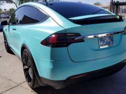 Tesla Matte Car Wrap