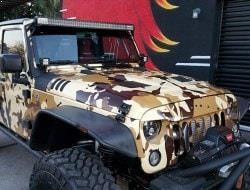 Jeep Camo Vinyl Wrap Phoenix