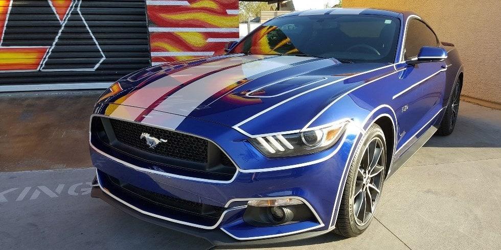 Vinyl Racing Stripes Tempe Arizona