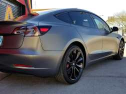 Tesla Car Wrap
