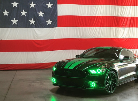 Tron's Green Machine Hits the Streets
