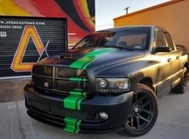 Truck Vinyl Wrap Racing Stripes