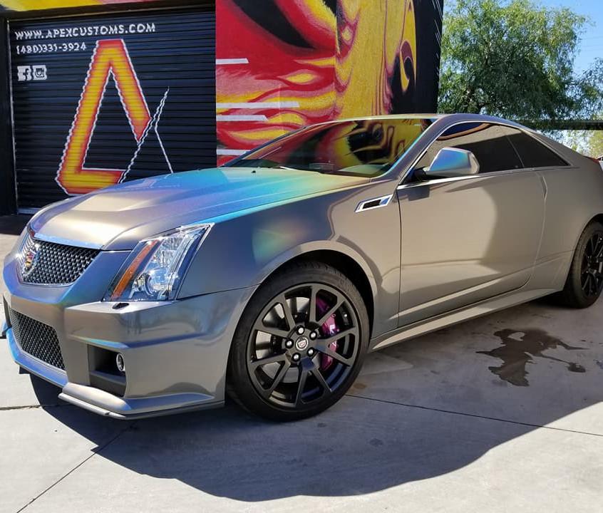 Cadillac CTS-V 3M Flip Vinyl Wrap