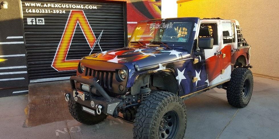 Jeep Suspension Lift Tempe Arizona