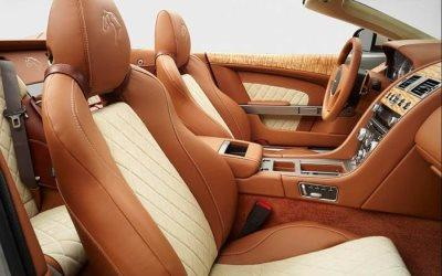 Brown Creme Auto Upholstery