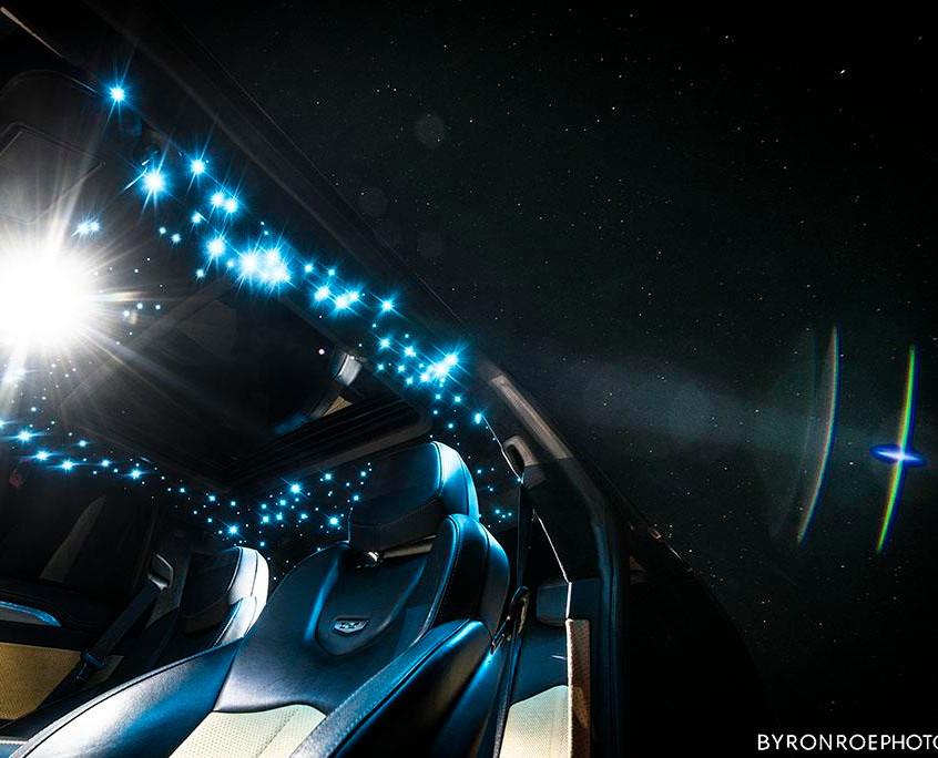 Cadillac CTS-V LED Galaxy Headliner