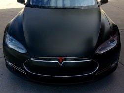 Tesla Matte Vinyl Wrap