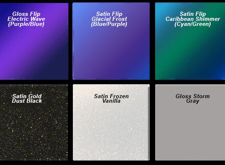 New 3M 1080 Vinyl Wrap Colors