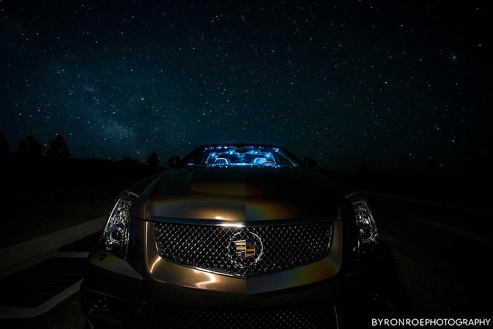 Cadillac CTS-V Star Galaxy LED Headliner Night Sky