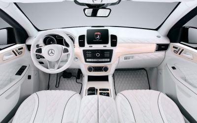White Auto Upholstery Interior
