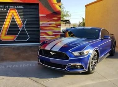 Mustang Vinyl Wrap Pinstripes