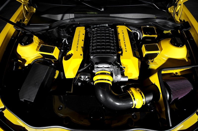Chevy Camaro GM Supercharger