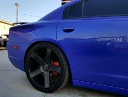 Phoenix Aftermarket Black Wheels
