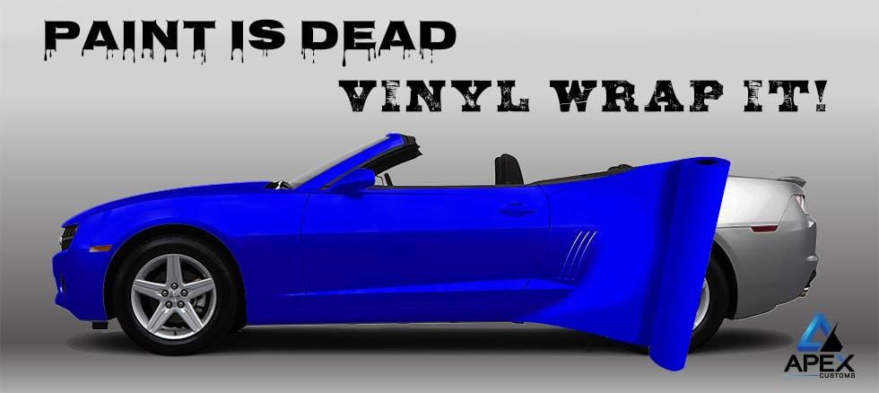 Vinyl Wrap Paint is Dead