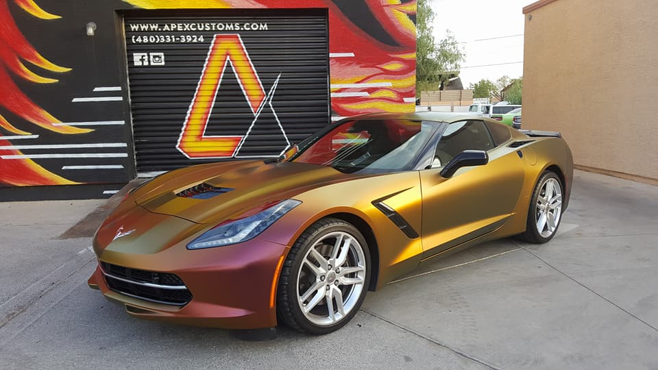 C7 Corvette Vinyl Wrap Avery