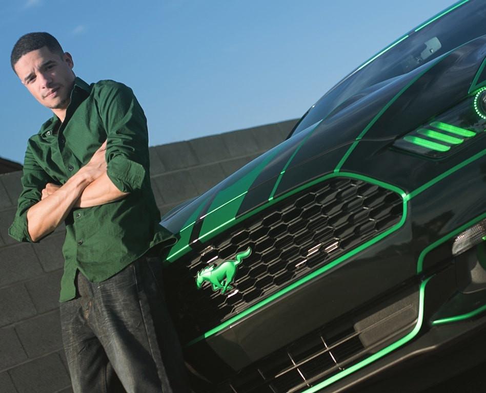Josh Rivers Ford Mustang Green Machine