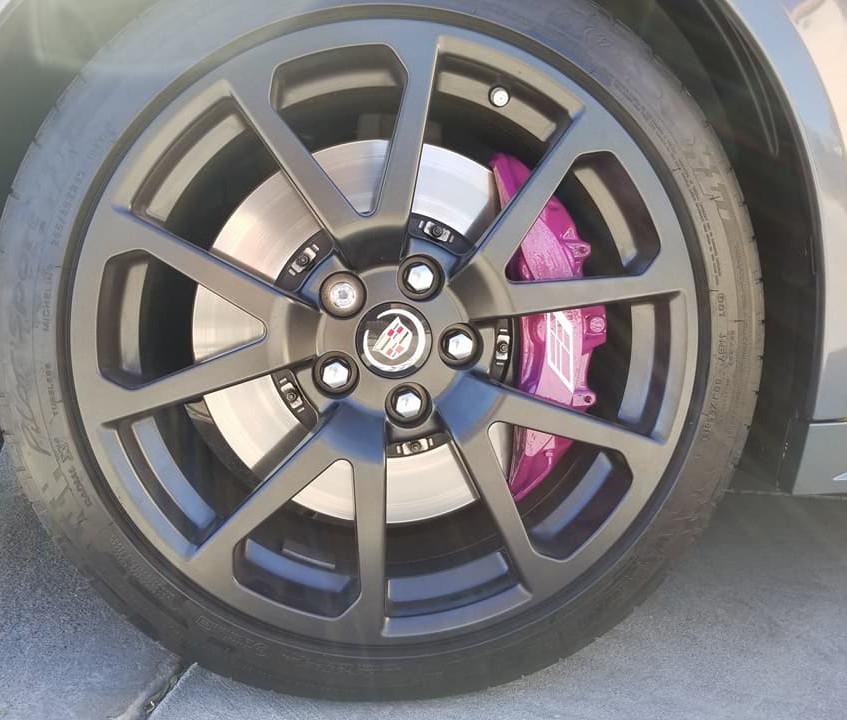 Cadillac CTS-V Powder Coated Caliper