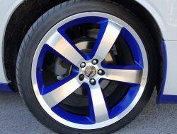 Vinyl Accent Wheel Rim