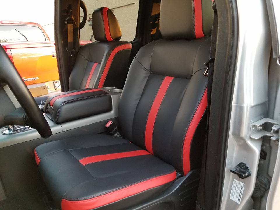 Ford F150 Re-Upholstered Seats