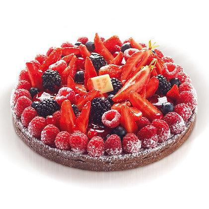 TARTE CHOCOLAT FRUITS ROUGES